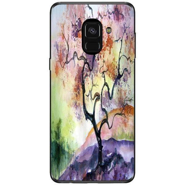 Husa Watercolor Tree Samsung Galaxy A8 2018 Plus Guardo.shop