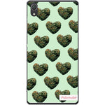 Husa Weed heart buds Sony Xperia Z2 Guardo.shop