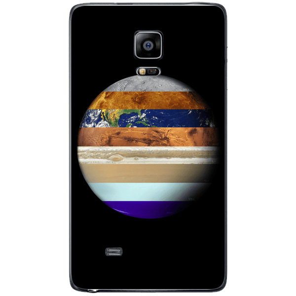 Husa Weird Earth Samsung Galaxy Note 4 EDGE Guardo.shop