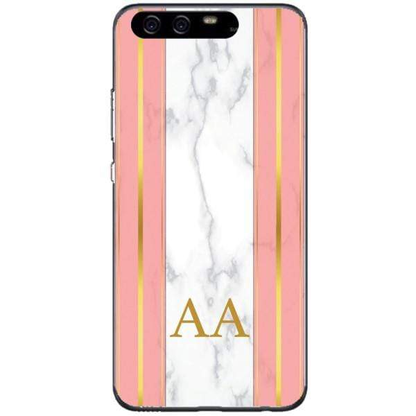 Husa Whine and Pink Marble AA Huawei P10 Plus Guardo.shop
