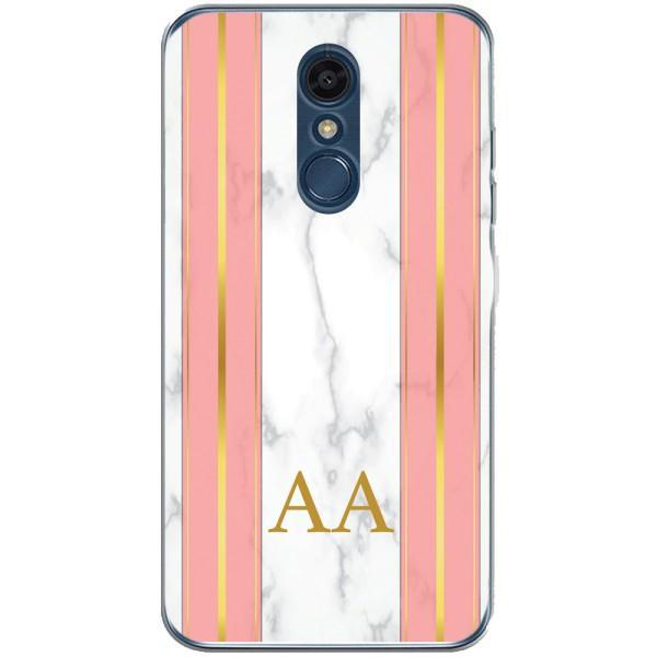 Husa Whine and Pink Marble AA LG K10 2018 Guardo.shop