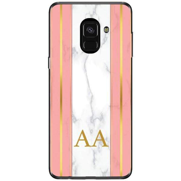 Husa Whine and Pink Marble AA Samsung Galaxy A8 2018 Plus Guardo.shop