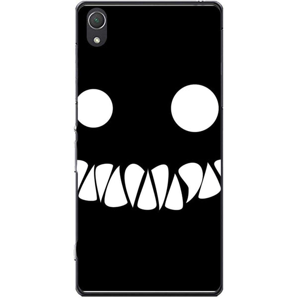 Husa White_Black monster Sony Xperia Z2 Guardo.shop