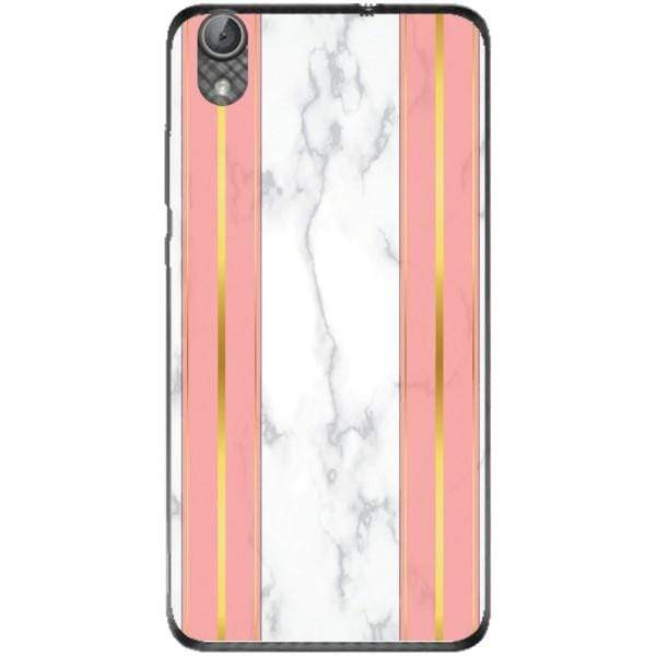 Husa White Marble with pink lines Huawei Y6 II Guardo.shop