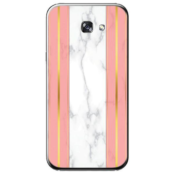 Husa White Marble with pink lines Samsung Galaxy A7 2016 Guardo.shop