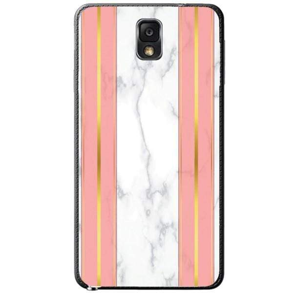 Husa White Marble with pink lines Samsung Galaxy Note 3 Guardo.shop