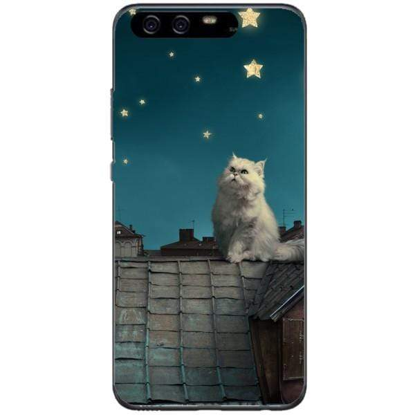 Husa White Persian Cat Huawei P10 Plus Guardo.shop