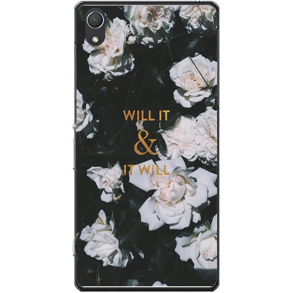 Husa White rose Sony Xperia Z2 Guardo.shop