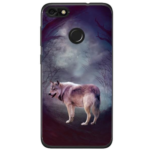 Husa Wolf art forest Huawei Y6 Pro 2017 Guardo.shop