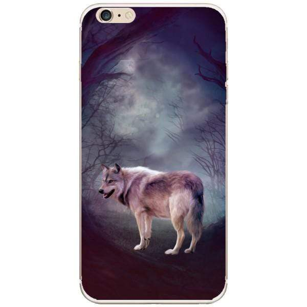 Husa Wolf art forest Iphone 6 Plus Guardo.shop