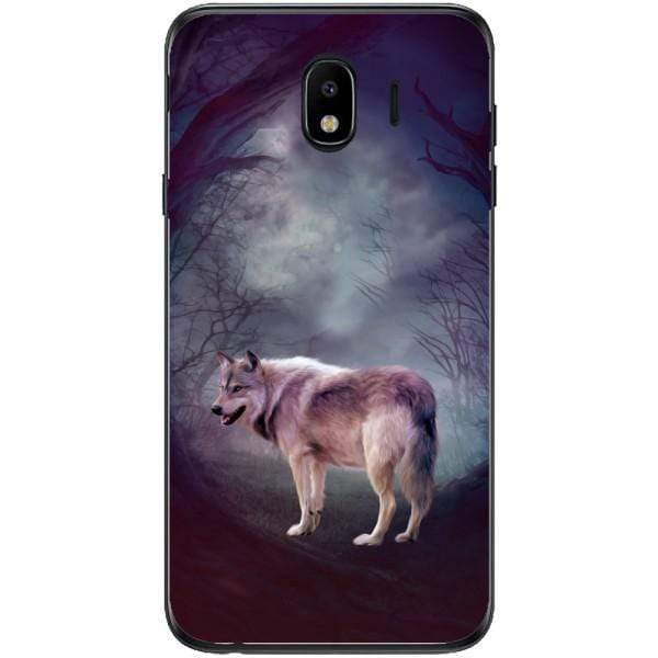 Husa Wolf art forest Samsung Galaxy J4 2018 Guardo.shop