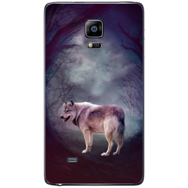 Husa Wolf art forest Samsung Galaxy Note 4 EDGE Guardo.shop
