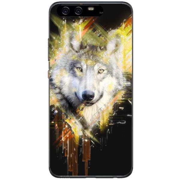 Husa Wolf muzzle art Huawei P10 Plus Guardo.shop