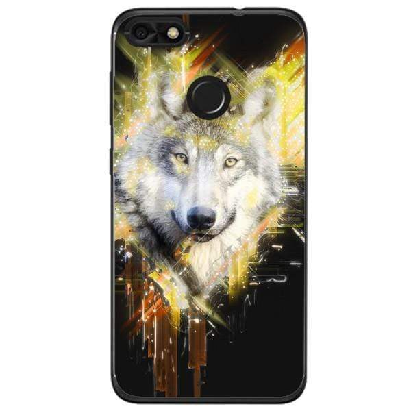 Husa Wolf muzzle art Huawei Y6 Pro 2017 Guardo.shop