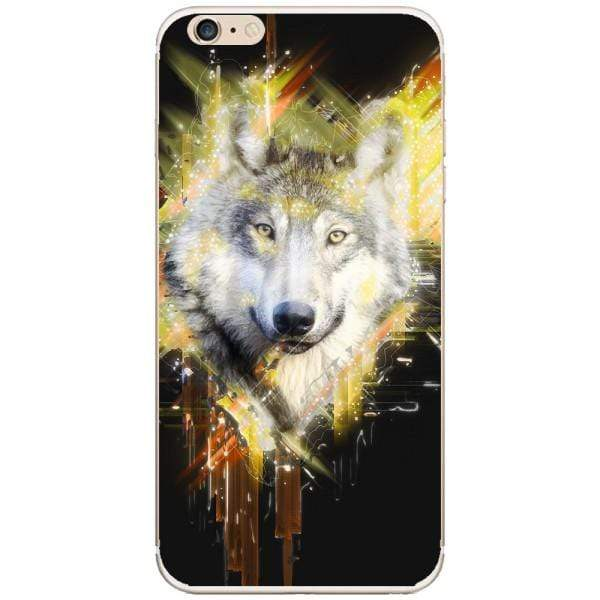 Husa Wolf muzzle art Iphone 6 Plus Guardo.shop