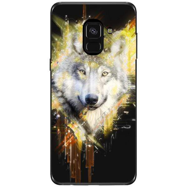 Husa Wolf muzzle art Samsung Galaxy A8 2018 Plus Guardo.shop
