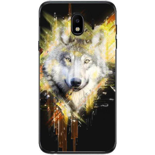 Husa Wolf muzzle art Samsung Galaxy J4 2018 Guardo.shop