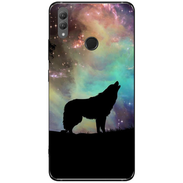 Husa Wolf starry sky silhouette art Huawei Note 10 Guardo.shop