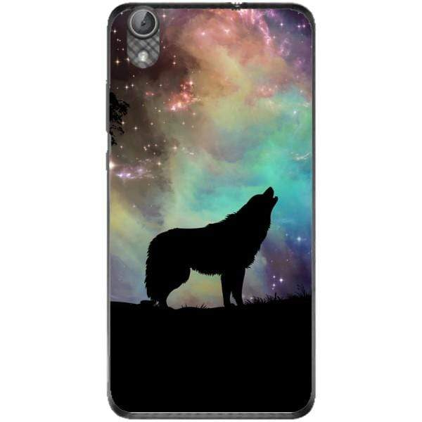 Husa Wolf starry sky silhouette art Huawei Y6 II Guardo.shop