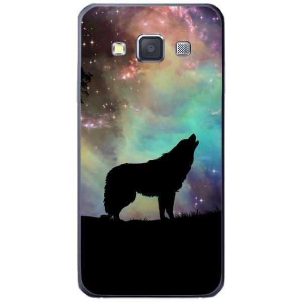 Husa Wolf starry sky silhouette art Samsung Galaxy A3 Guardo.shop