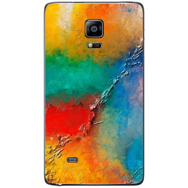 Husa Yellow Red Shadows Samsung Galaxy Note 4 EDGE Guardo.shop
