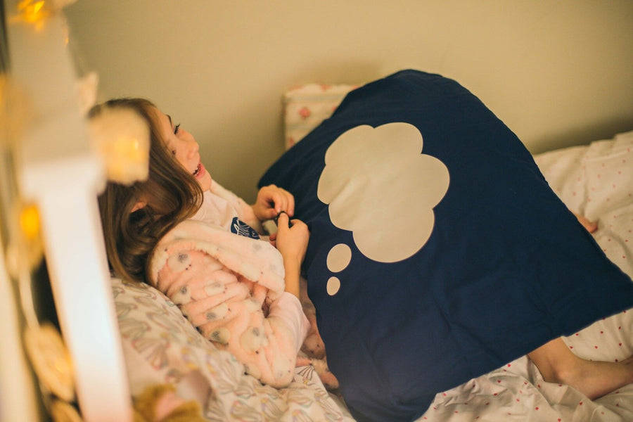 Glow Sketch Pillow Case Dream Cloud