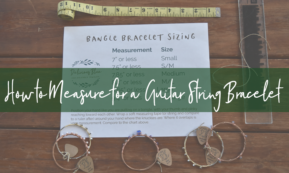 How to Measure for a Guitar String Bracelet