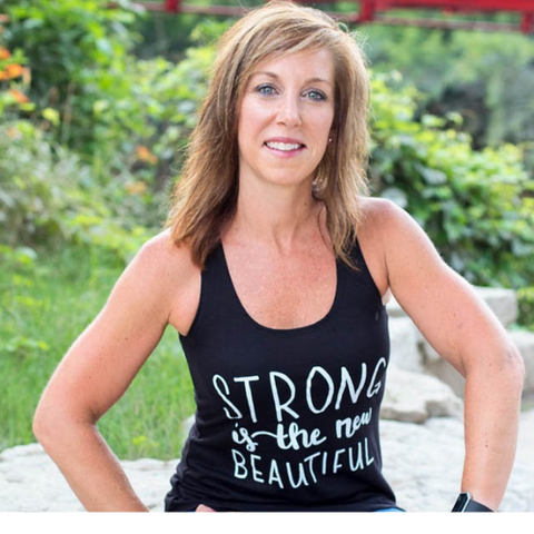 Strong is the New Beautiful Tee by Self Love Beauty