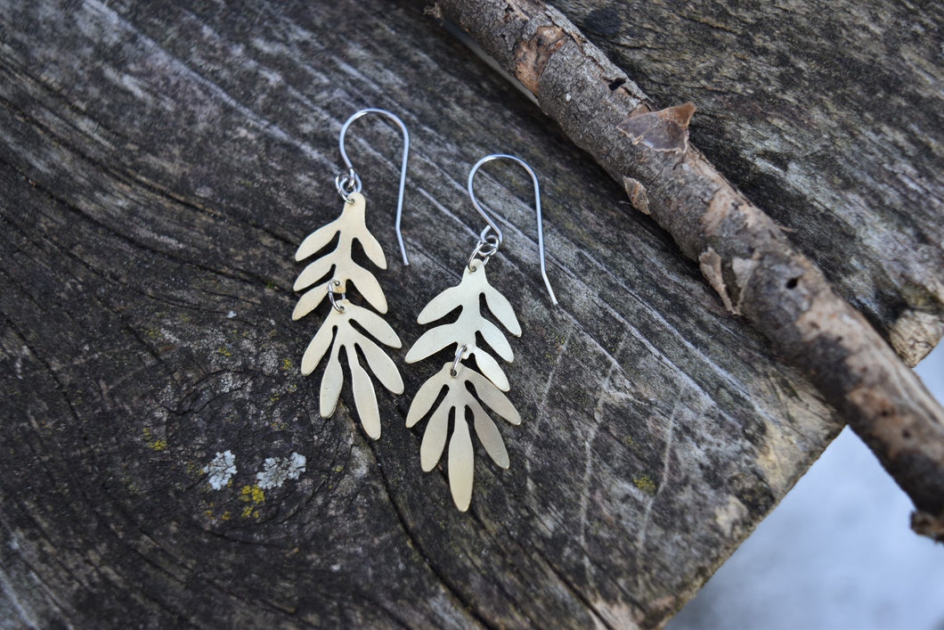 Leaf Branch Earrings