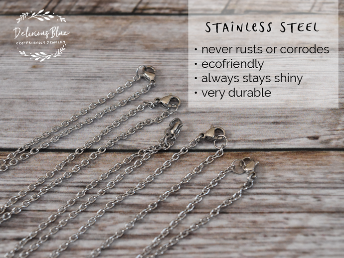 Stainless Steel Chain - 18""