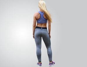 Super-Flex Grey Athletic Leggings