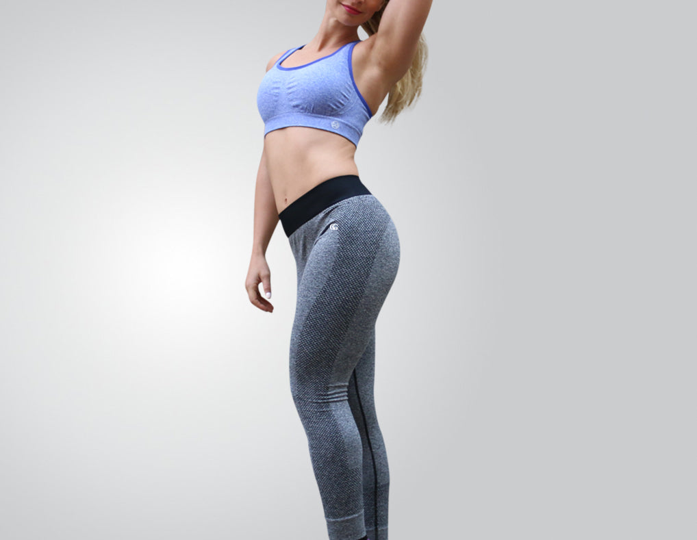 search for official 2019 original really cheap Super-Flex Grey Athletic Leggings