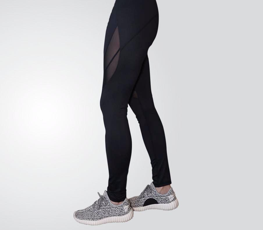 Active-Mesh Athletic Leggings