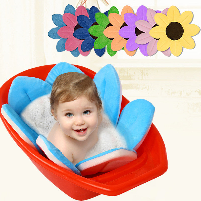 Blooming Flower Baby Bath Mat – Together Smile