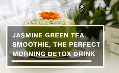 Jasmine Green Tea Smoothie, The Perfect Morning Detox Drink