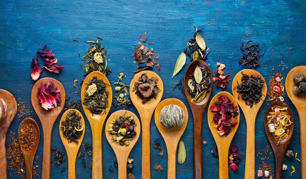 There are herbal tea remedies for whatever ailment - they can either be herbs, spices, florals or a mixture of them.