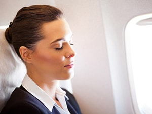 How to Prevent Jetlag? Just close your eyes and breathe through your nose