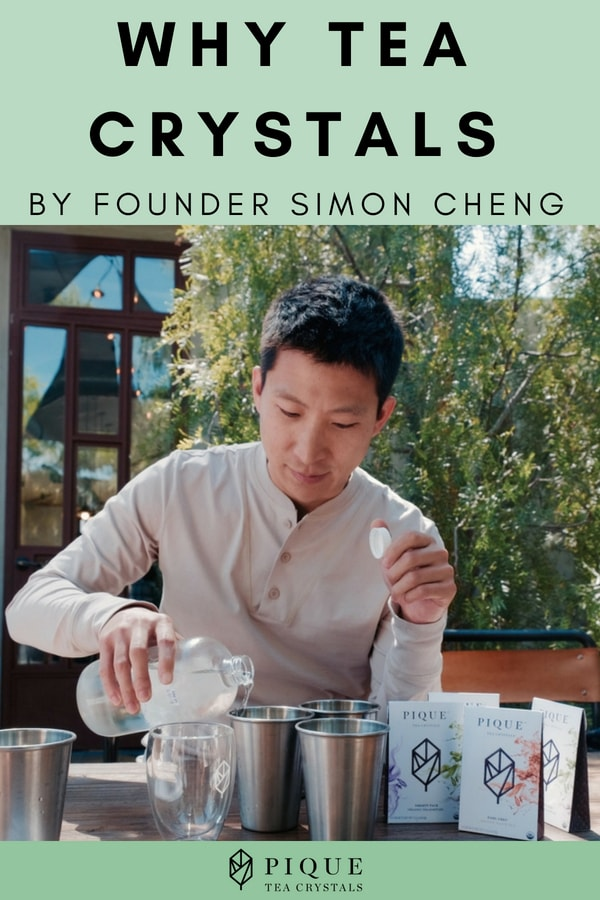 Why Tea Crystals? by Founder Simon Cheng