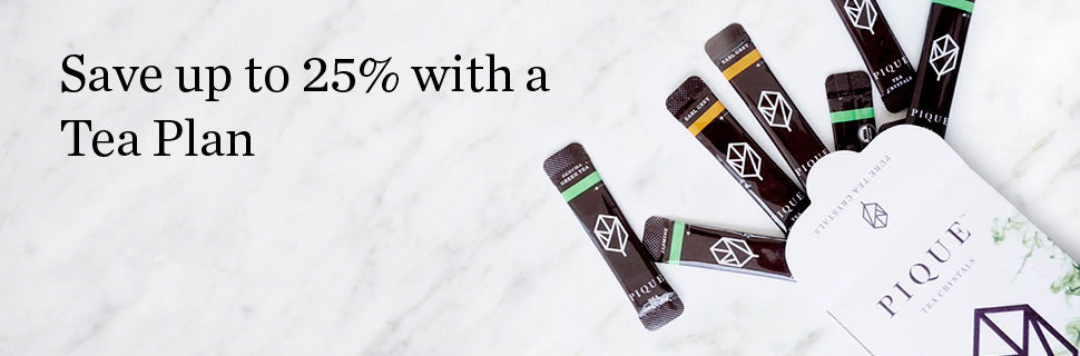 Save up to 25% with a Tea Plan
