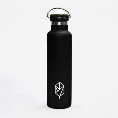 Pique Woodie Flask (Volcanic Black)