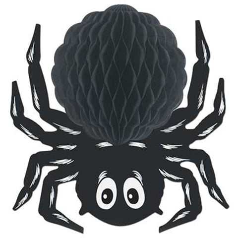 "Black Tissue Spider 14"" (Each)"