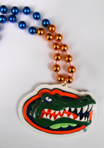 "36"" Collegiate Florida Gator Licensed Bead (Each)"
