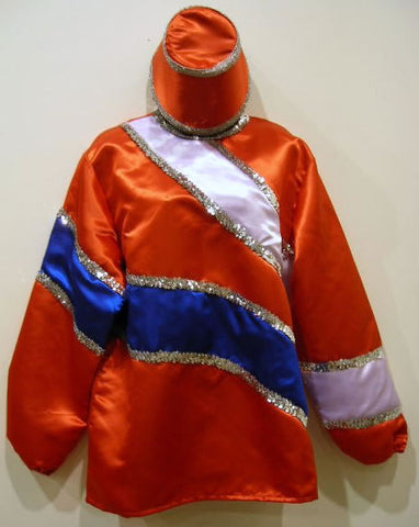 #13 - Red Costume with Blue and White Trim (Each)