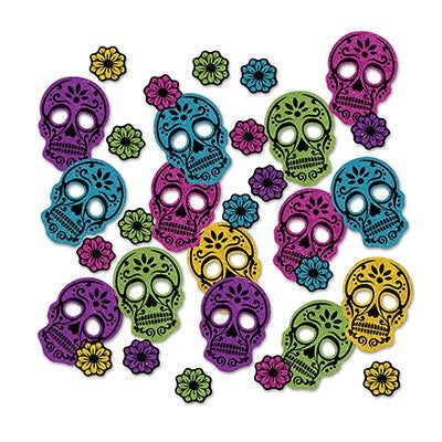Sugar Skull Confetti (Each)