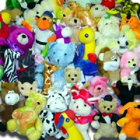 $1.85 Average Plush Crane Pre-Pack (50 Pieces)
