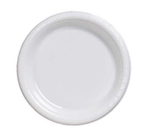 "9"" Plate White (20 Count)"
