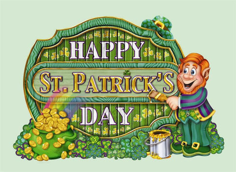 "'Happy St. Patrick''s Day Sign 11.5"" x 16.5"" (Each)'"