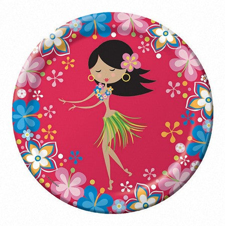 "'Let''s Hula! 9"" Dinner Plates - 8 Piece (Each)'"