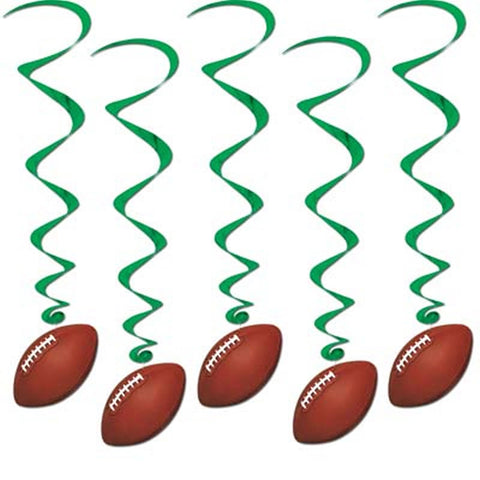 Football Whirls (5 Piece Pack)
