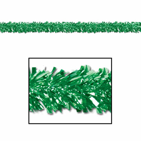 Green 6-Ply Fringe Gleam 'N Fest Festooning Garland (Each)